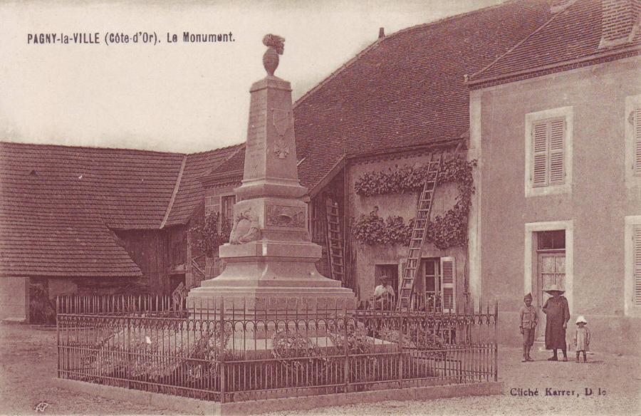 Pagny La Ville  Grande Rue