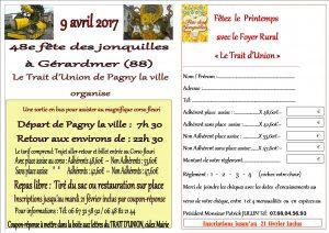 9 avril 2017 –  Fête des Jonquilles à Gérardmer