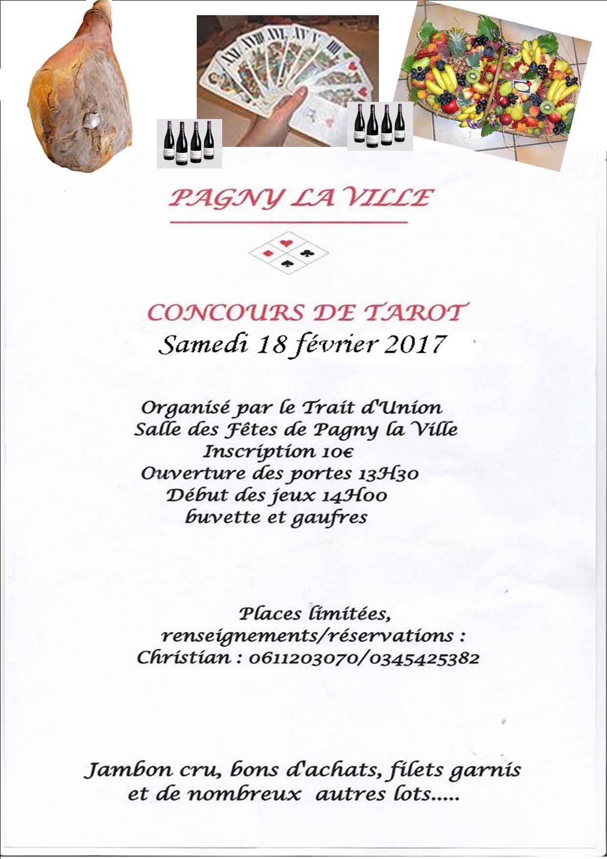 18 février 2017- Concours de TAROT