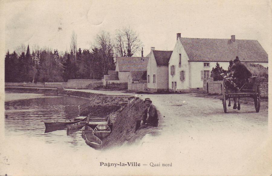 Le quai et un chariot