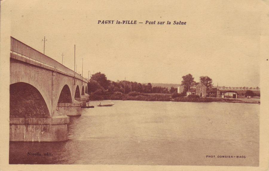 L'ancien pont de Charrey