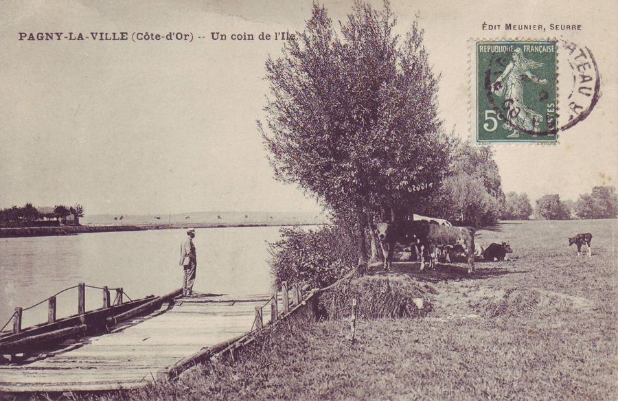 Le berger au bord de Saône