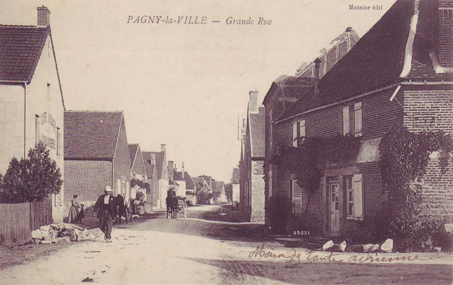 Carrefour rue de la Croix de Mission et Grande rue