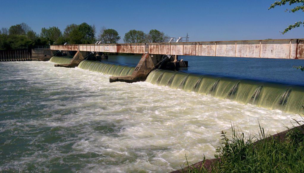 Le barrage de Pagny