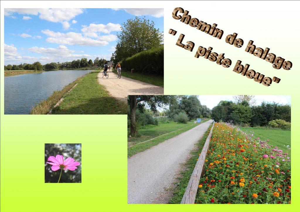 "Chemin de halage ""Piste  bleue EUROVELO 6"""