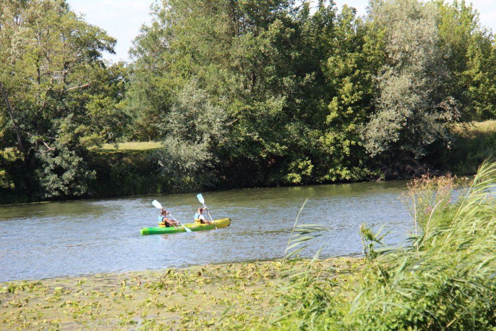 Canoë sur la Saône