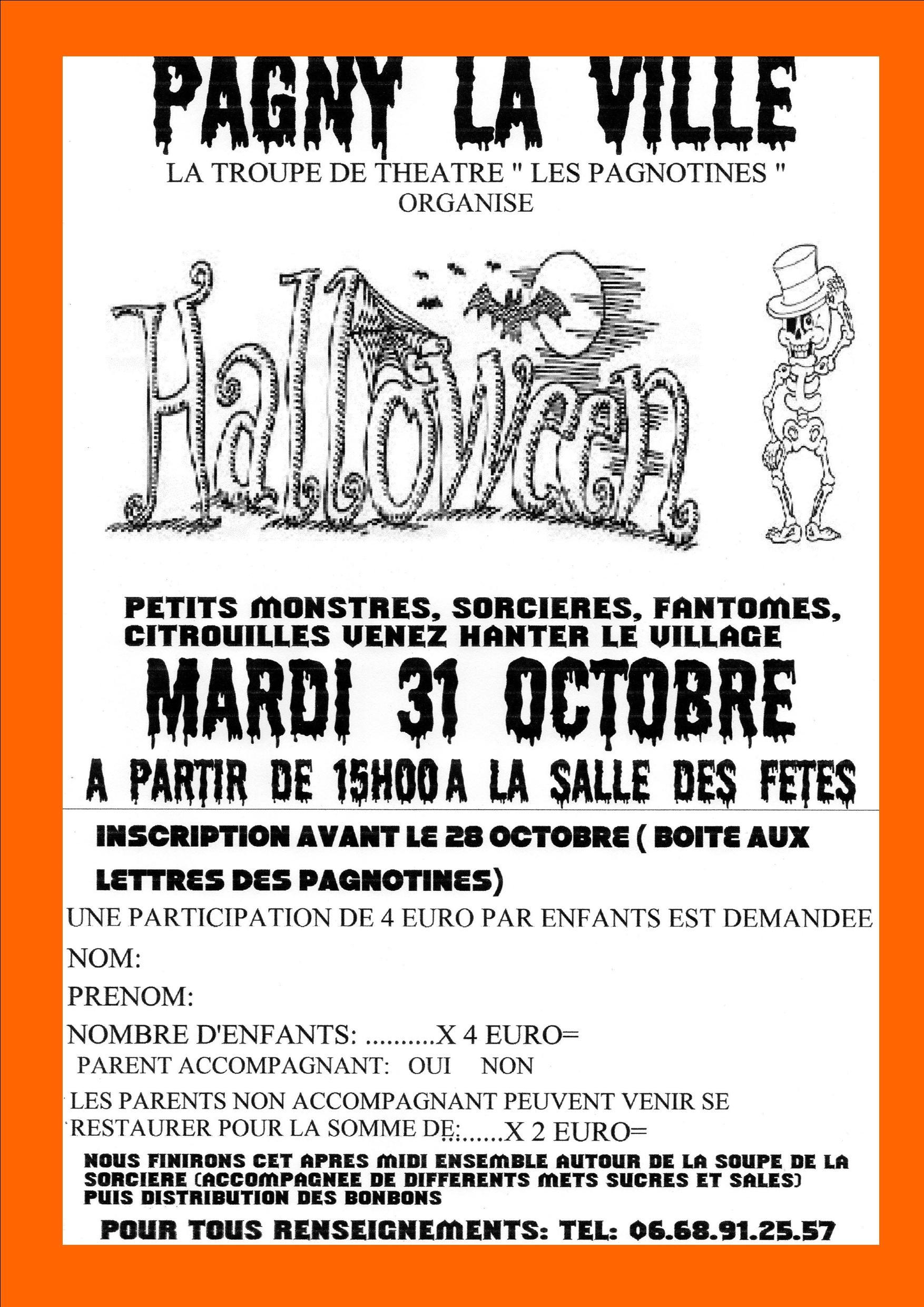 31 Octobre 2017 – Halloween