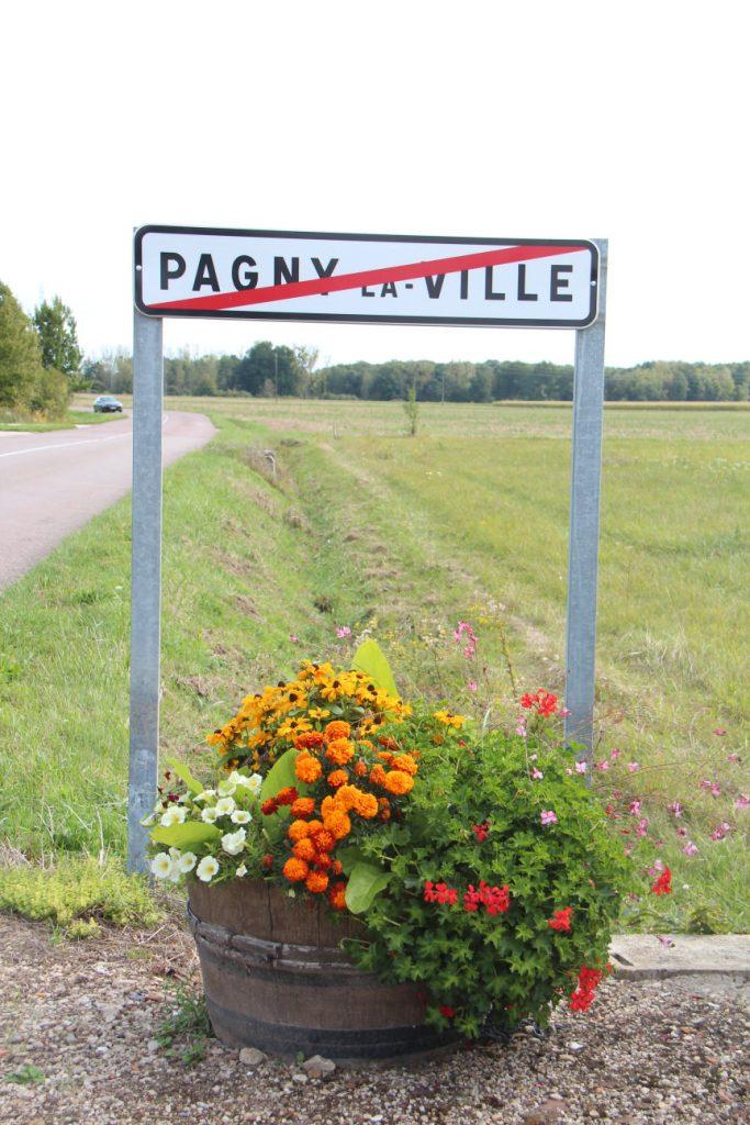 Sortie route de Pagny le Château