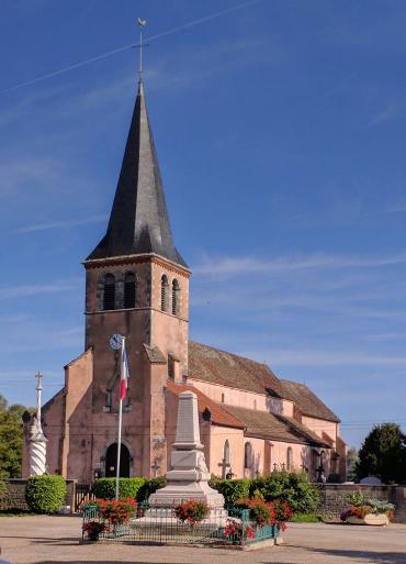 L'église et le monument aux morts