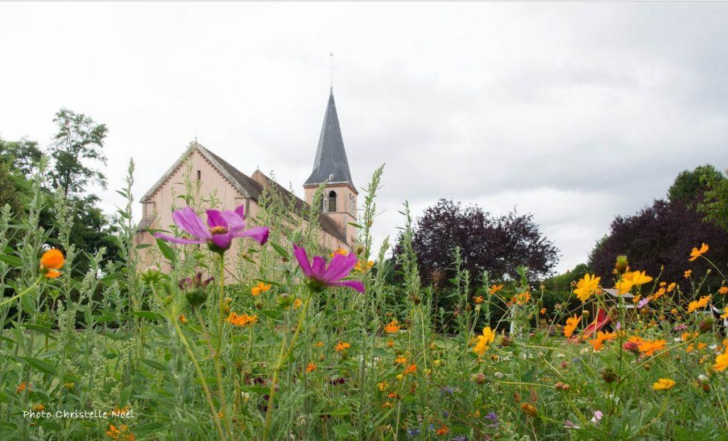 L'église de Pagny la ville vue par Christelle Noël