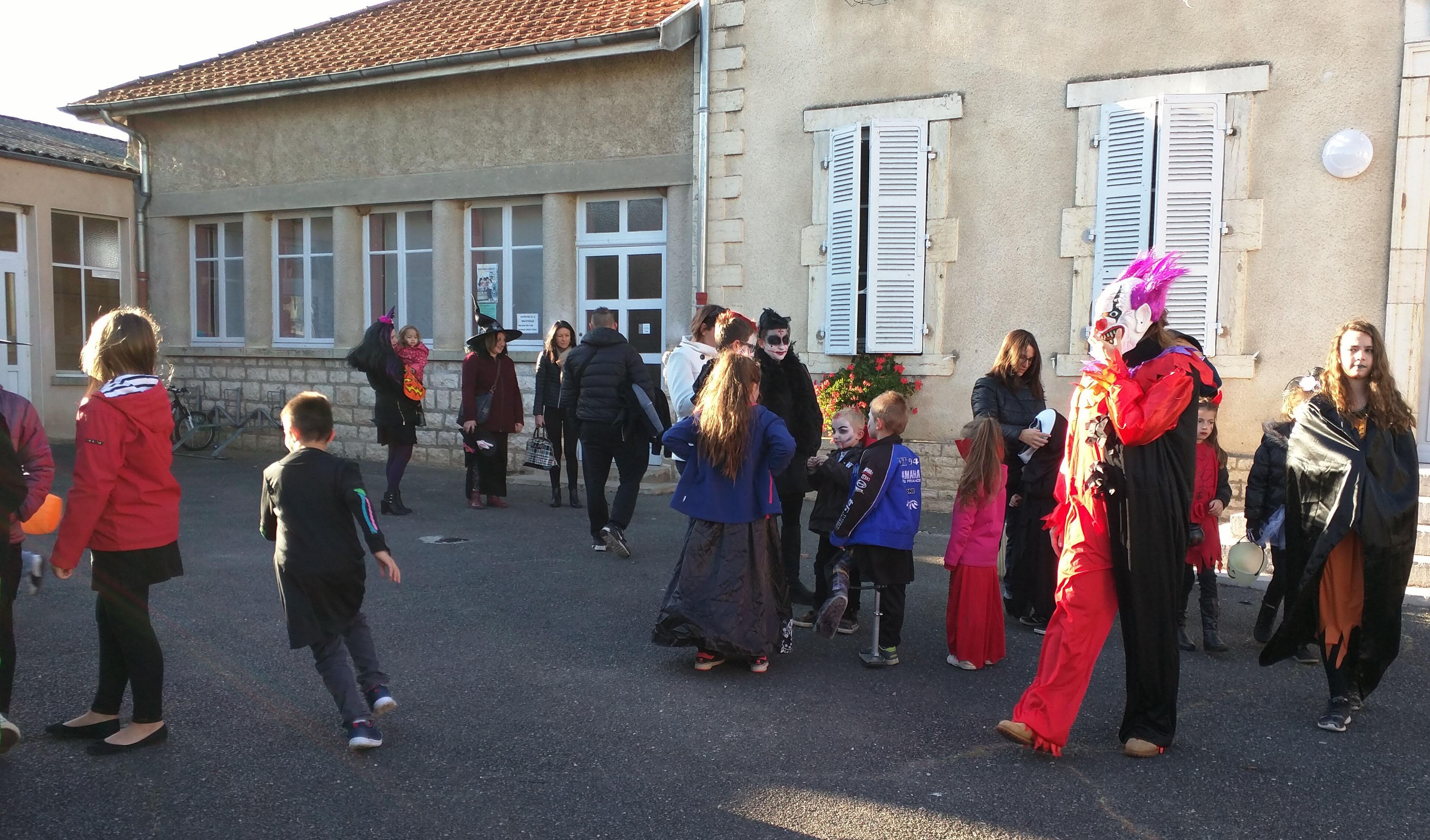 31 octobre 2017- Halloween à Pagny la ville