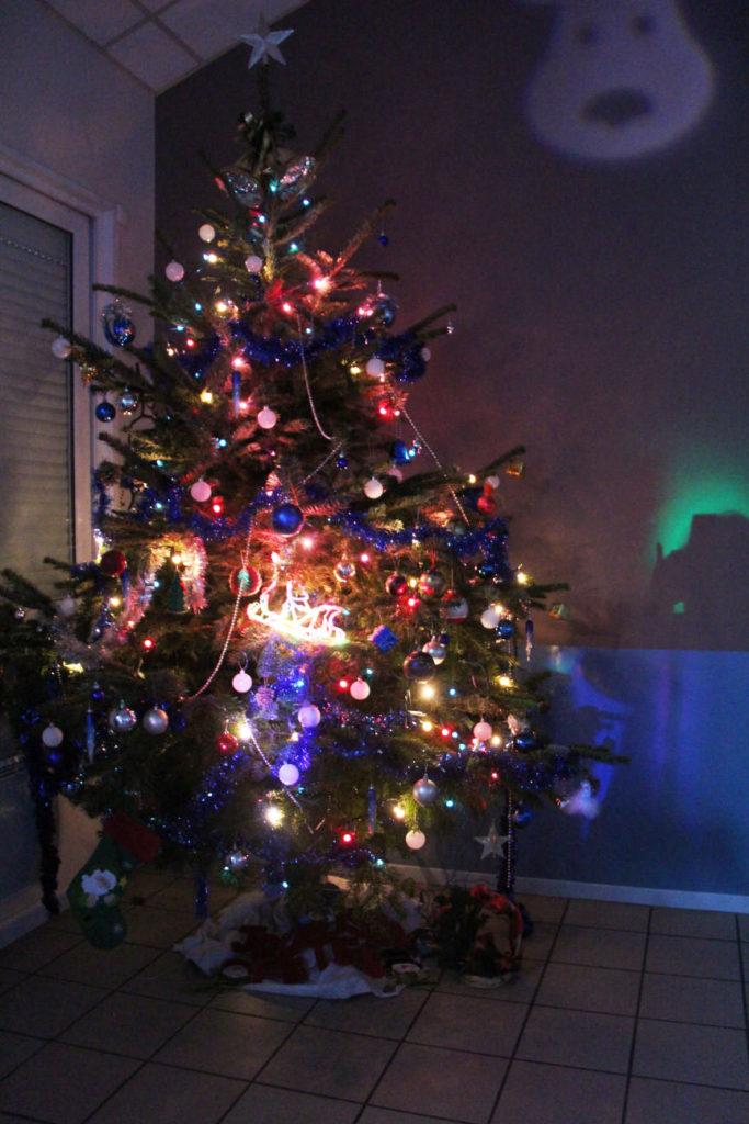 Arbre de Noël de la commune de Pagny la ville