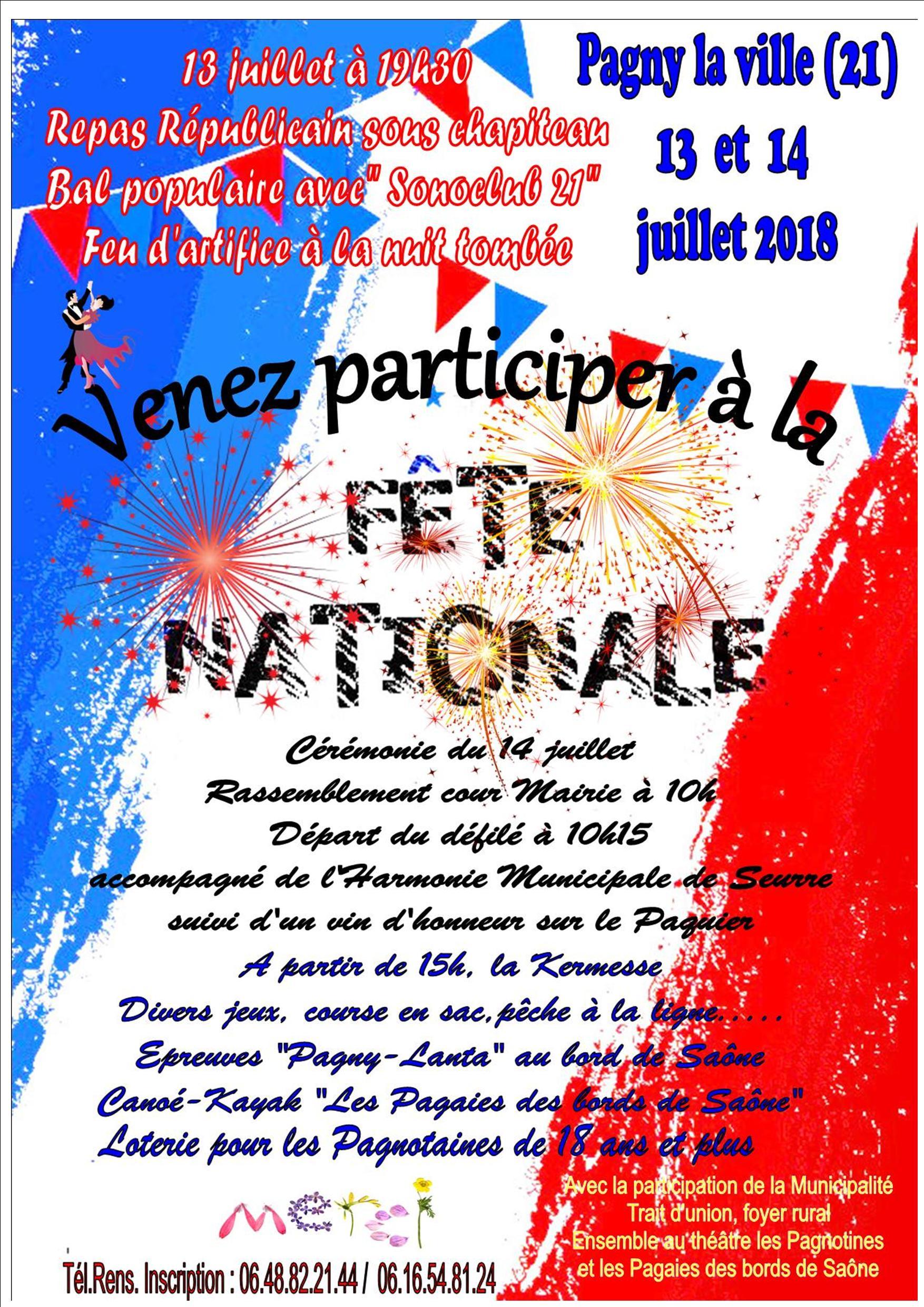 22 juin 2018 – Fête Nationale 2018