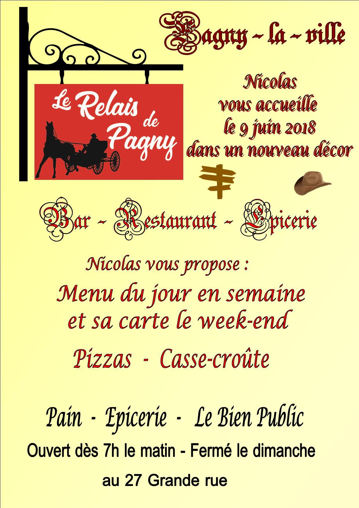 4 Juin 2018 – Réouverture du Relais de Pagny