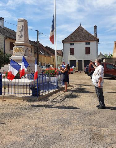 14 juillet 2020 – Cérémonie au monument aux morts
