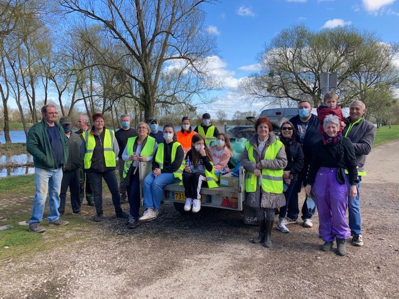 27 MARS 2021 – Nettoyage du village, entrées et voie bleue