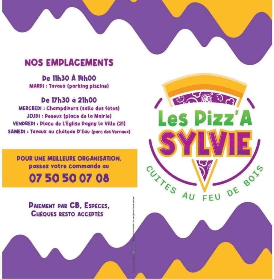 Camion Pizz'A Sylvie à Pagny la ville